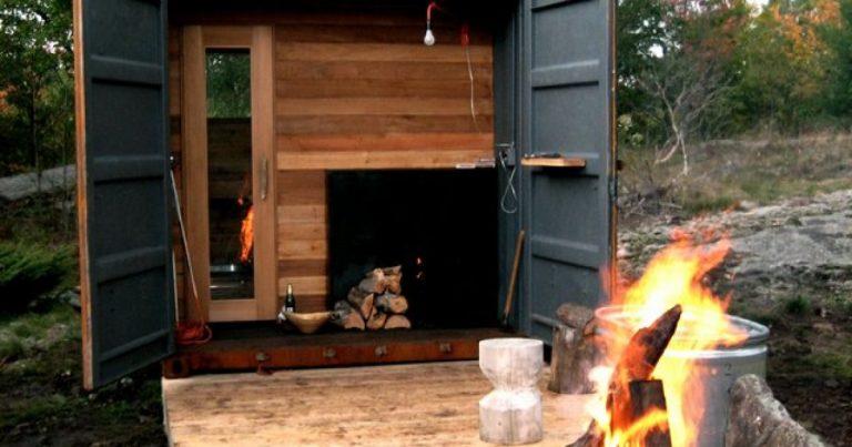 Sauna en una caja