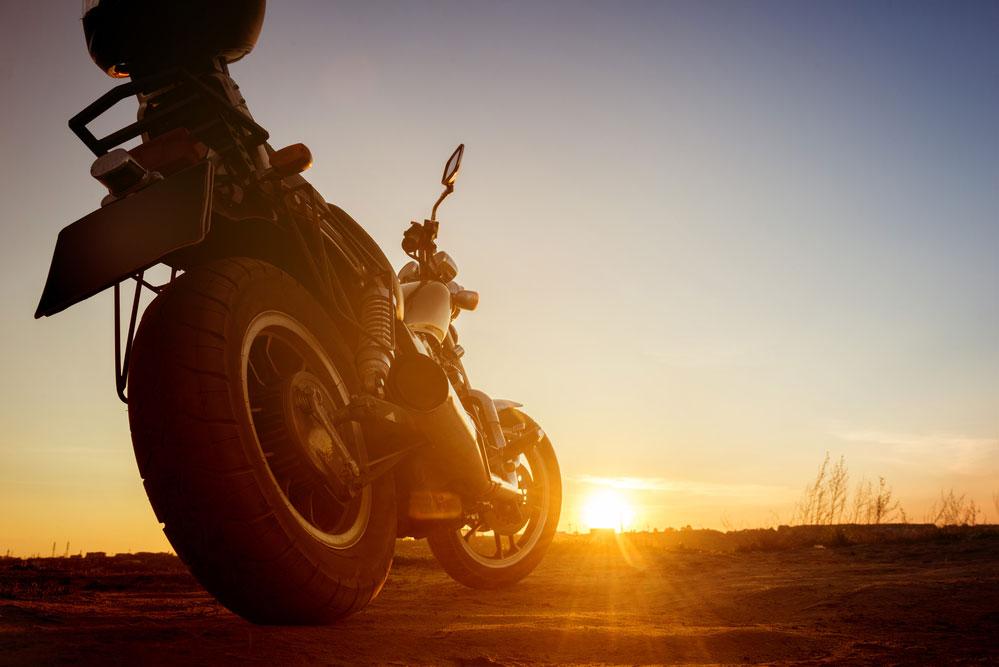 Equipo para salir en carretera en moto