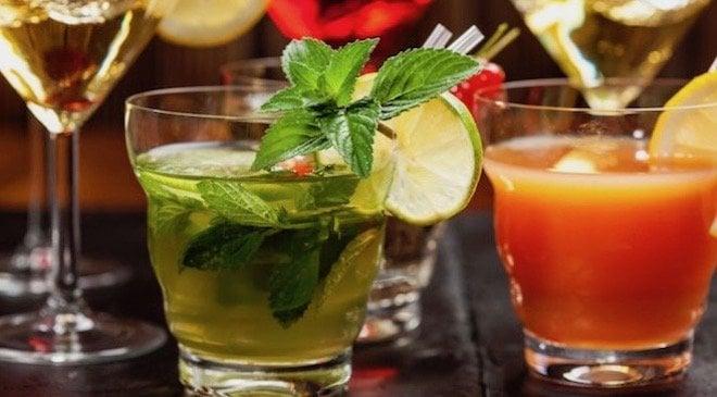 Recetas de cócteles con alcohol para hacer en casa