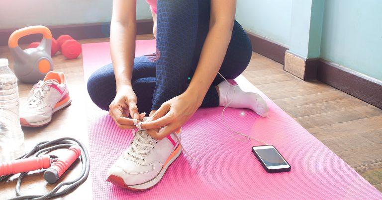 Utensilios básicos para hacer ejercicio en casa