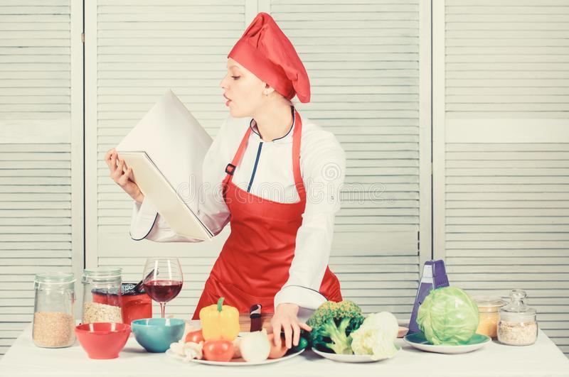 Cómo crear recetas como chef