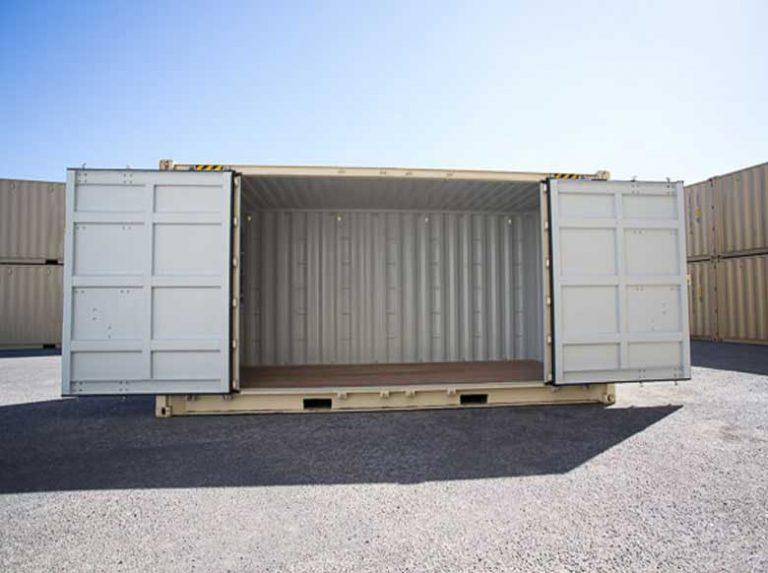 Ventajas de usar contenedores marítimos para almacenar
