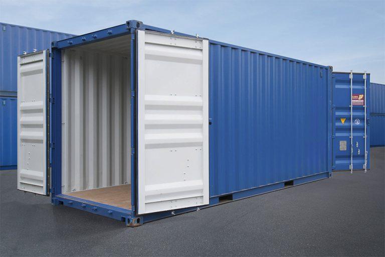 ¿Qué es un contenedor double door?
