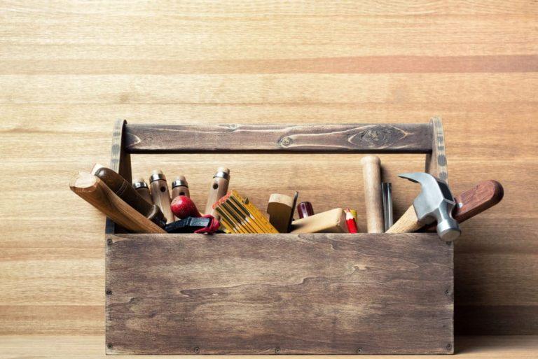 Herramientas esenciales para proyectos en casa