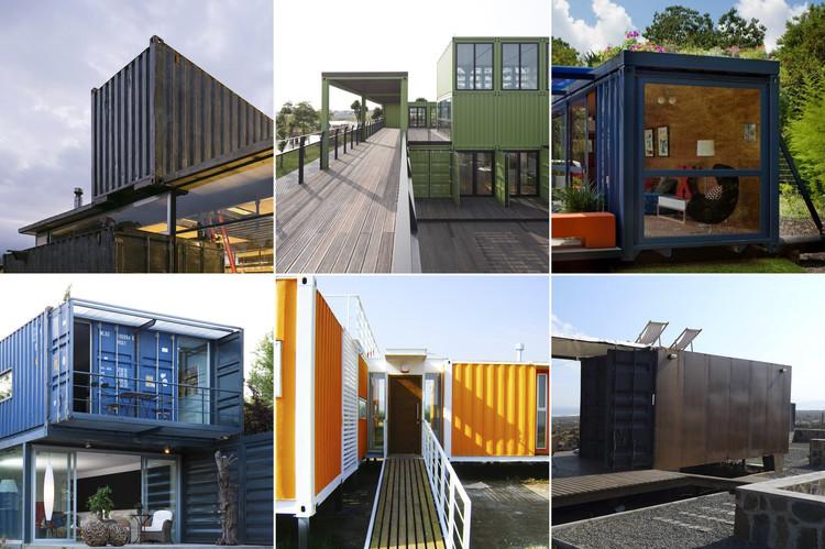 ¿Qué es la arquitectura de contenedores de envío?
