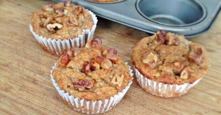 Muffins de nuez